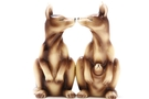 Buy Magnetic Salt and Pepper Shaker Set (Kangaroos) - 4 inch