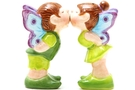 Magnetic Salt and Pepper Shaker Set (Fairies) - 4 inch [ 2 units]