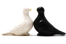 Buy Magnetic Salt and Pepper Shaker Set (Kissing Doves) - 4 inch