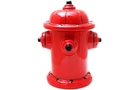 Ceramic Cookie Jar (Hydrant) - 10 inch