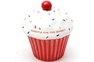 Ceramic Cookie Jar (Giant Cupcake) - 7 1/2 inch