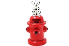 Ceramic Dalmation and Hydrant Saving Bank (Emergency Fund) - 6 1/2 inch