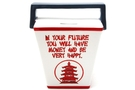 Buy Pacific Ceramic To Go Box Saving Bank (Good Fortunes) - 6 1/2 inch