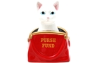 Buy Pacific Ceramic Cat in Purse Saving Bank (Purse Fund) - 6 1/2 inch