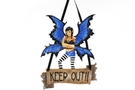 Buy Keep out Fairy Plaque
