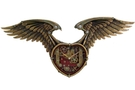 Buy Pacific Steampunk Winged Heart Clock
