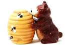 Buy Magnetic Salt and Pepper Shaker Set (Bear and Honey) - 3 3/4 inch
