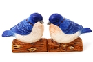 Buy Magnetic Salt and Pepper Shaker Set (Blue Birds) - 3 3/4 inch