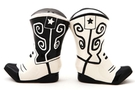 Buy Magnetic Salt and Pepper Shaker Set (Cowboy Boots) - 3 3/4 inch