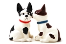 Buy Magnetic Salt and Pepper Shaker Set (Funny Mutts) - 3 3/4 inch