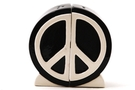 Buy Magnetic Salt and Pepper Shaker Set (Peace Sign) - 4 inch