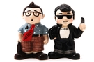 Buy Pacific Magnetic Salt and Pepper Shaker Set (Nerd and Cool) - 4 inch