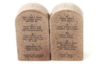 Buy Magnetic Salt and Pepper Shaker Set (Ten Commandments) - 4 inch