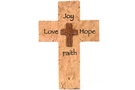 Buy Love Joy Faith Hope Cross Plaque with Easel Back - 9.5 in