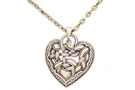 Buy Celtic Heart Dragon Necklace