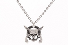 Buy Skull crossed pistols necklace