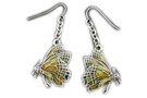 Buy Pacific Chrysalis Butterfly Earrings