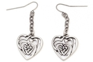 Buy Celtic Heart Earrings