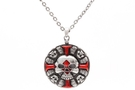 Buy Skull Cross Pendant Necklace
