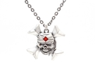 Buy Skull x Pendant Necklace