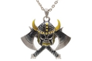 Buy Hatchet Skull Necklace