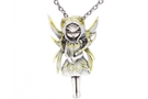 Buy Silver and Gold Fairy Necklace
