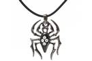 Buy Black Gem Spider Necklace