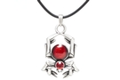 Buy Red Gem Spider Necklace #J175