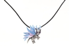 Buy Mystica Collection Jewelery Winter Snowflake Fairy Cat Necklace