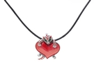 Buy Kitten With Heart Necklace