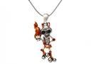 Buy La Muerte Llameante Necklace