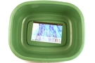 Buy Rectangular Wash Basin (Green)