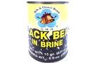 Buy Bells & Flower Black Bean In Brine - 15oz