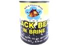 Buy Bells & Flower Black Bean In Brine - 15oz