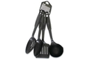 Buy Nylon Black Kitchen Tools (Set of 4) - 11 inch