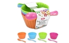 Ice Cream Bowls with Spoons - Set of 4