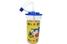 Peanuts Tumbler Cup with Sipping Straw (Yellow)