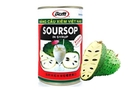 All Natural 100% Soursop Pulp in Syrup (Graviola Pulp raw/uncut) - 15oz