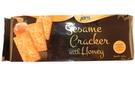 Sesame Cracker with Honey - 5.64oz [ 12 units]