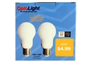 Energy Efficient Light Bulb (Soft White-14 W /2-ct)