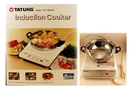 Buy Induction Cooker with Cooking Pot and Glass Cover (3-Pc Set) - 13.98 x 7.87 x 15.94