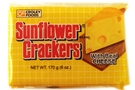 Buy Croley Foods Sunflower Crackers with Real Cheese - 6oz