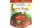 Buy Jyoti Pinto Beans in water with a little sea salt.