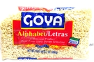 Buy Goya Letras (Alphabet Pasta) - 7oz