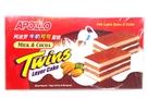 Bolu Lapis Rasa Susu & Coklat (Twins Layer Cake Milk & Cocoa Flavor) - 5.07oz
