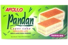 Buy Apollo Bolu Lapis Rasa Pandan (Pandan Layer Cake ) - 5.07oz