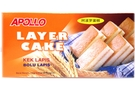 Buy Apollo Bolu Lapis (Layer Cake) - 5.07oz