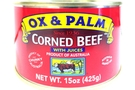 Buy Ox & Palm Corned Beef With Juices - 15oz
