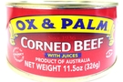 Buy Ox & Palm Corned Beef With Juices - 11.5oz