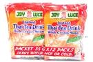 Buy Joy Luck Instant Thai Tea Drink With Cream/Sugar (12-ct) - 14.82oz